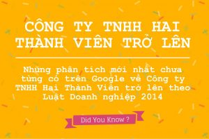 Công ty TNHH 2 thành viên trở lên theo Luật Doanh nghiệp 2014