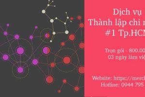Hồ sơ thành lập chi nhánh TNHH HTV