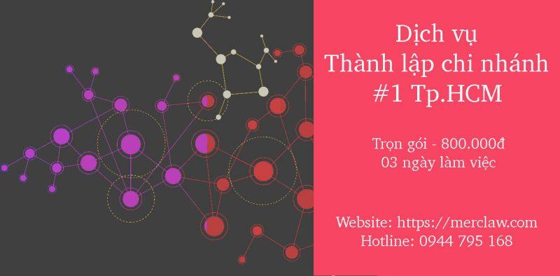 Thủ tục Thành lập chi nhánh công ty TNHH 2 TV