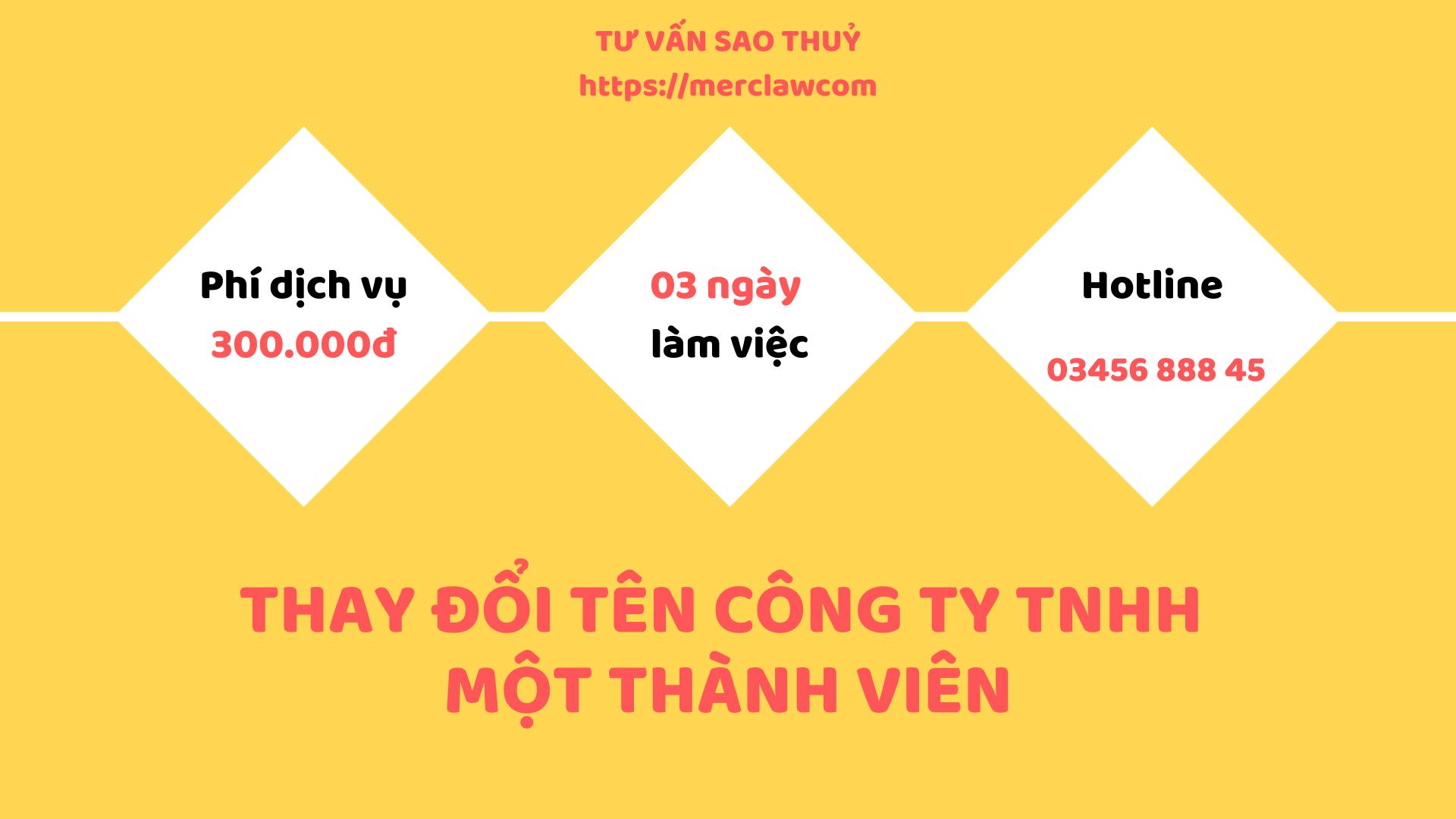 thay đổi tên công ty TNHH
