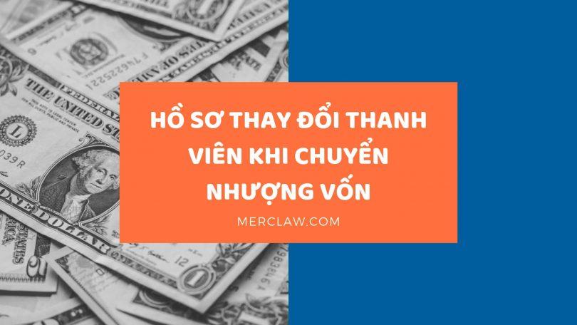 Hồ sơ chuyển nhượng vốn công ty TNHH