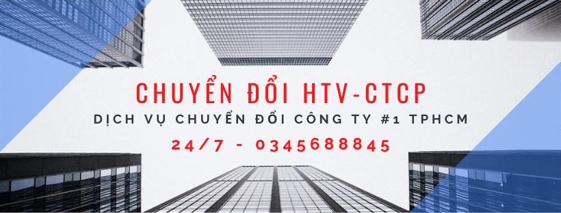 chuyển đổi công ty TNHH HTV sang CTCP