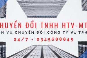 Chuyển đổi công ty TNHH HTV sang MTV